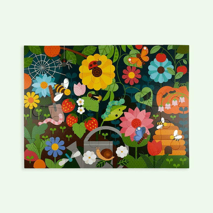 Petit Collage Dinosaur Secret Garden Floor Puzzle