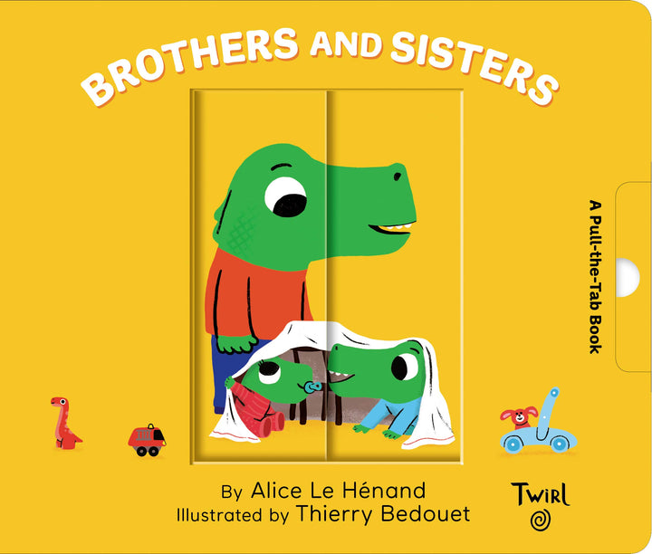 Brothers and Sisters: Pull & Play Book for Baby - cover