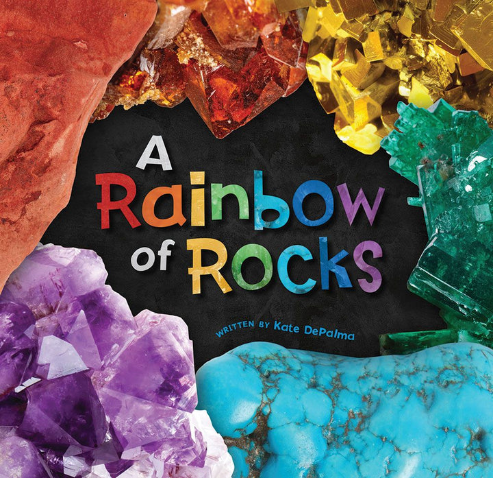 Rainbow of Rock Discovery Book - Ages 3-7 yr