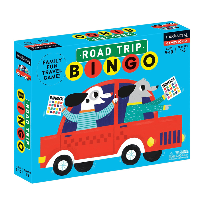 Road Trip Bingo Travel Game
