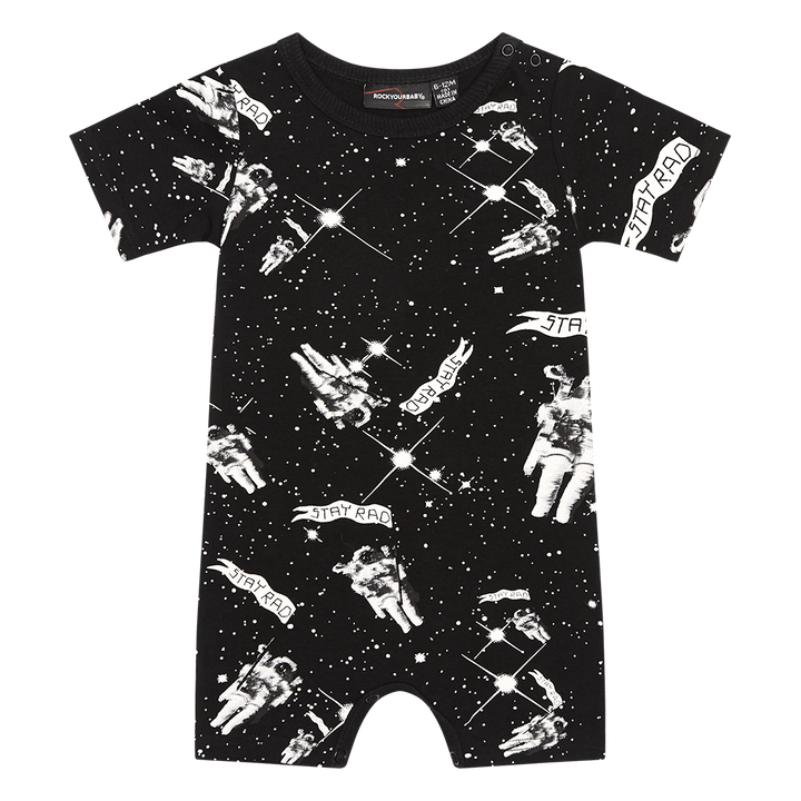 Rock Your Baby Spaceman Romper