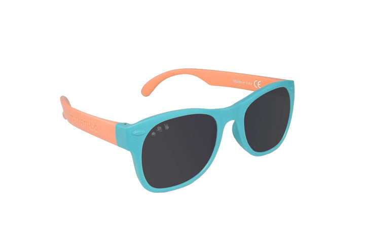 Roshambo Polarized Kids Sunglasses (teal/coral)