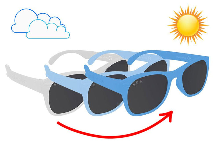 Roshambo Color Changing Toddler Sunglasses (blue)