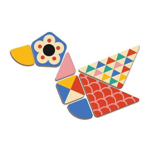 magnet shape of bird