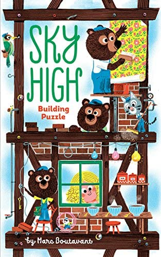 Sky High Building Puzzle for Kids 3+