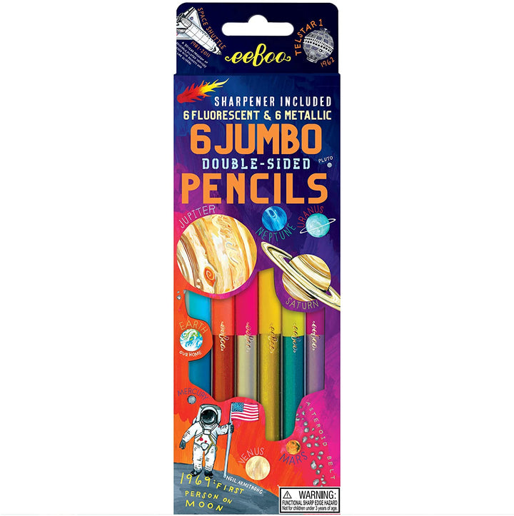 Solar System Jumbo Double-Sided Pencils