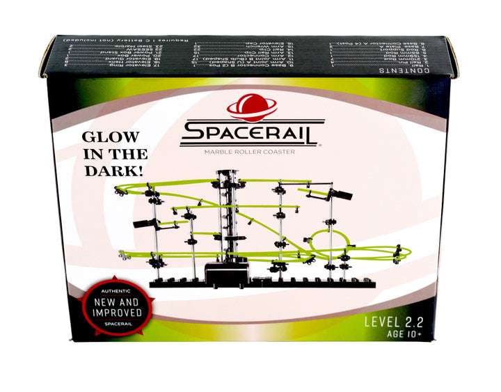 Glow in the Dark Marble Rail Set - Ages 10+
