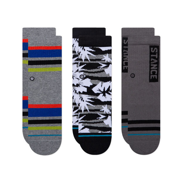 Stance Kids Socks – Big Chillin 3 pack (multi)