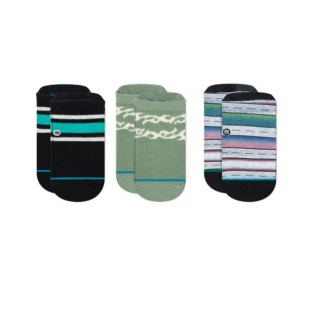 Stance Baby Socks - Boyd (green/black/grey)