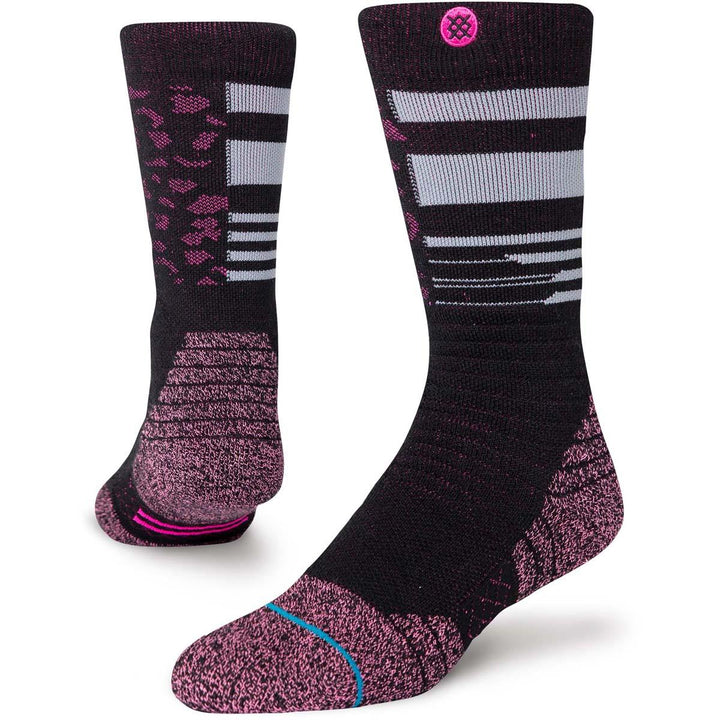 Stance Cheetah Snow Sock in Youth Large