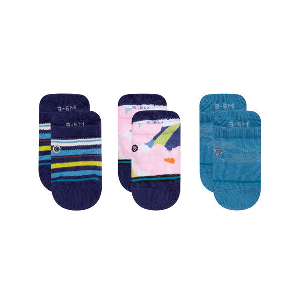 Infant 3 Pair Sock Set - 3-6 months