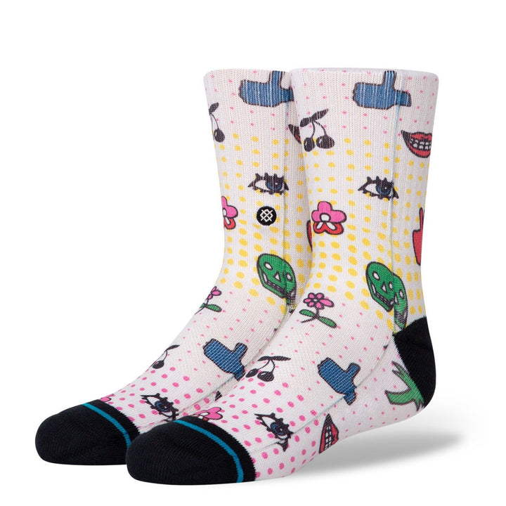 Stance Spark Socks in S, M, L kids sizes