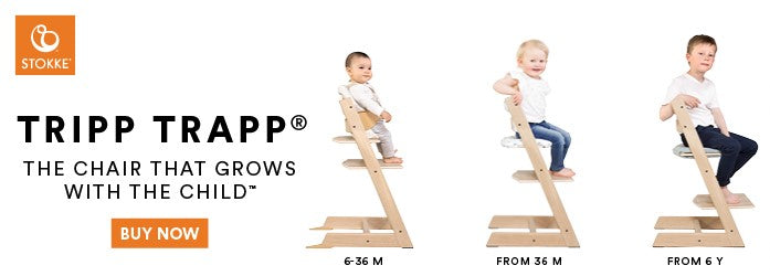 Stokke Tripp Trapp Chair Complete