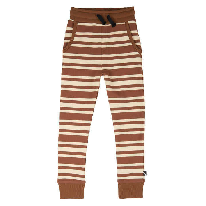 Striped Sweatpants for Fall