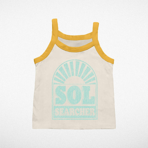 Tiny Whales Girls Tank Top - Sol Searcher