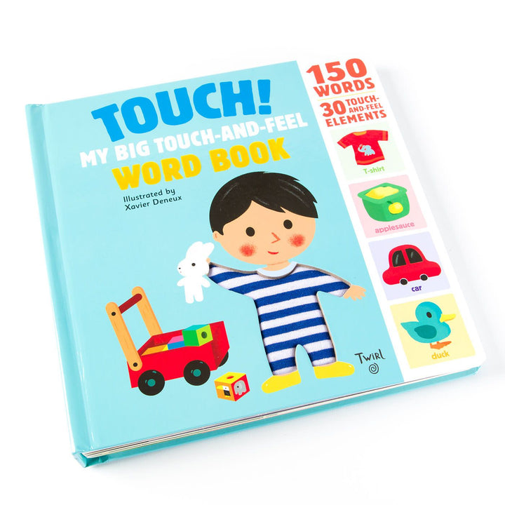 Touch! Touch and Feel Word Board Book