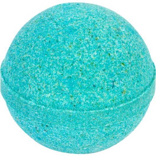 Eucalyptus Spearmint Colored Bath Bombs - unwrapped