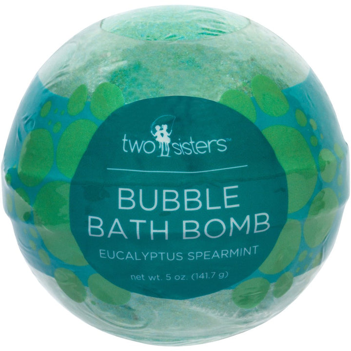 Eucalyptus Spearmint Colored Bath Bombs