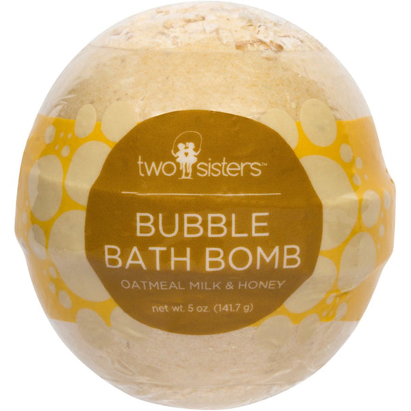 Oatmeal Milk & Honey Bubbling Bath Bomb