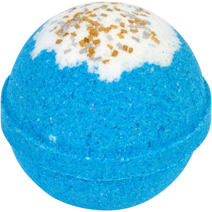 Sleepy Time Bubbling Bath Bomb - unwrapped