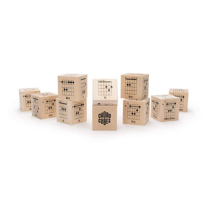 Uncle Goose Chord Cubes - Guitar Blocks