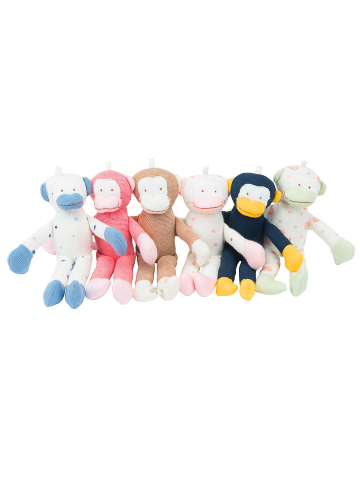 Under the Nile Organic Scrappy Monkey Toy (assorted)