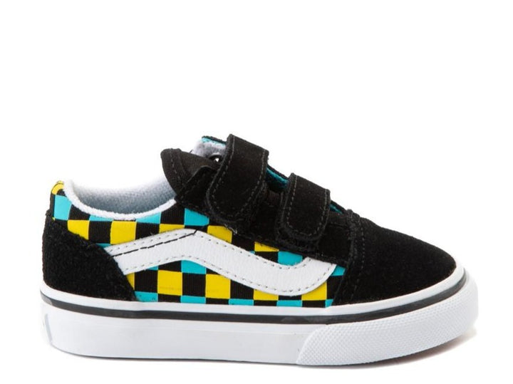 Vans Toddler Old Skool Neon Glow Checker Shoe