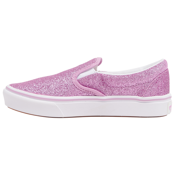 Vans Kids Comfycush Glitter Orchid SlipOn