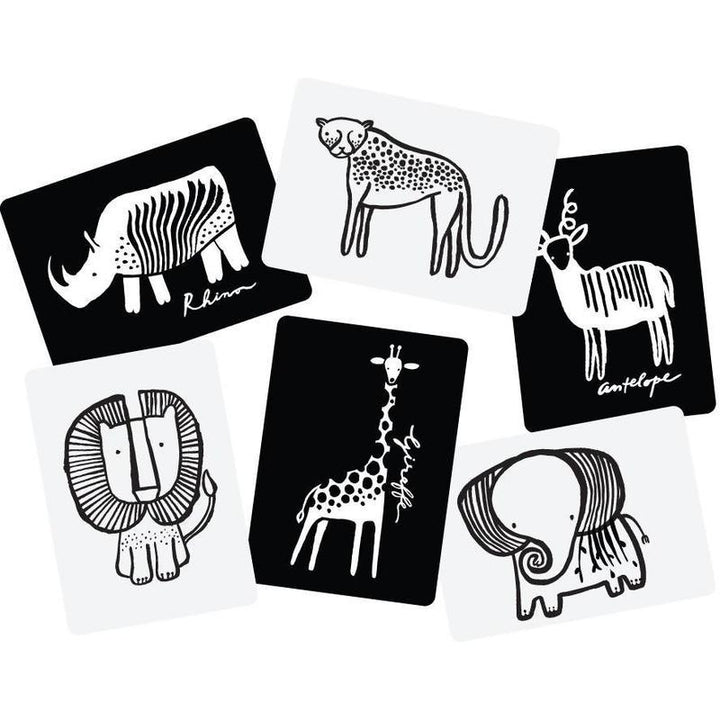 Wee Gallery Art Cards For Baby - Safari