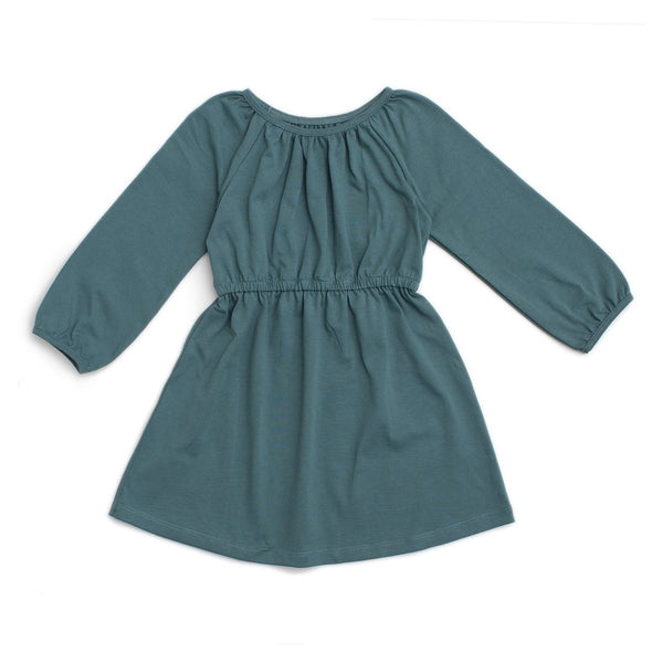 Winter Water Factory Emerson Dress (teal solid)