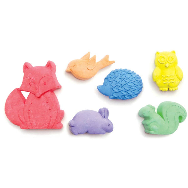 Fox and Animals Chalk Critters