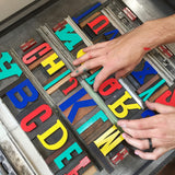 Short Courses in letterpress typesetting & printing.