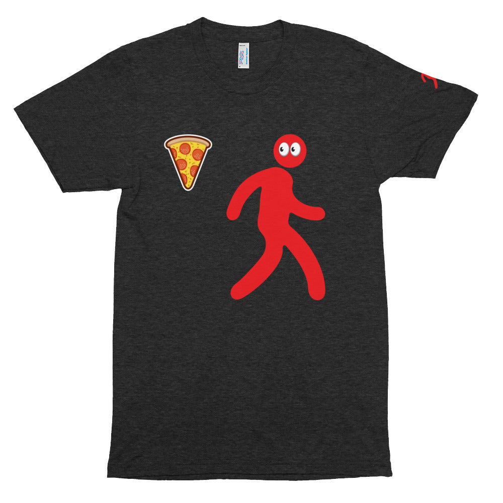 Camiseta suave de manga corta I WANNA PIZZA