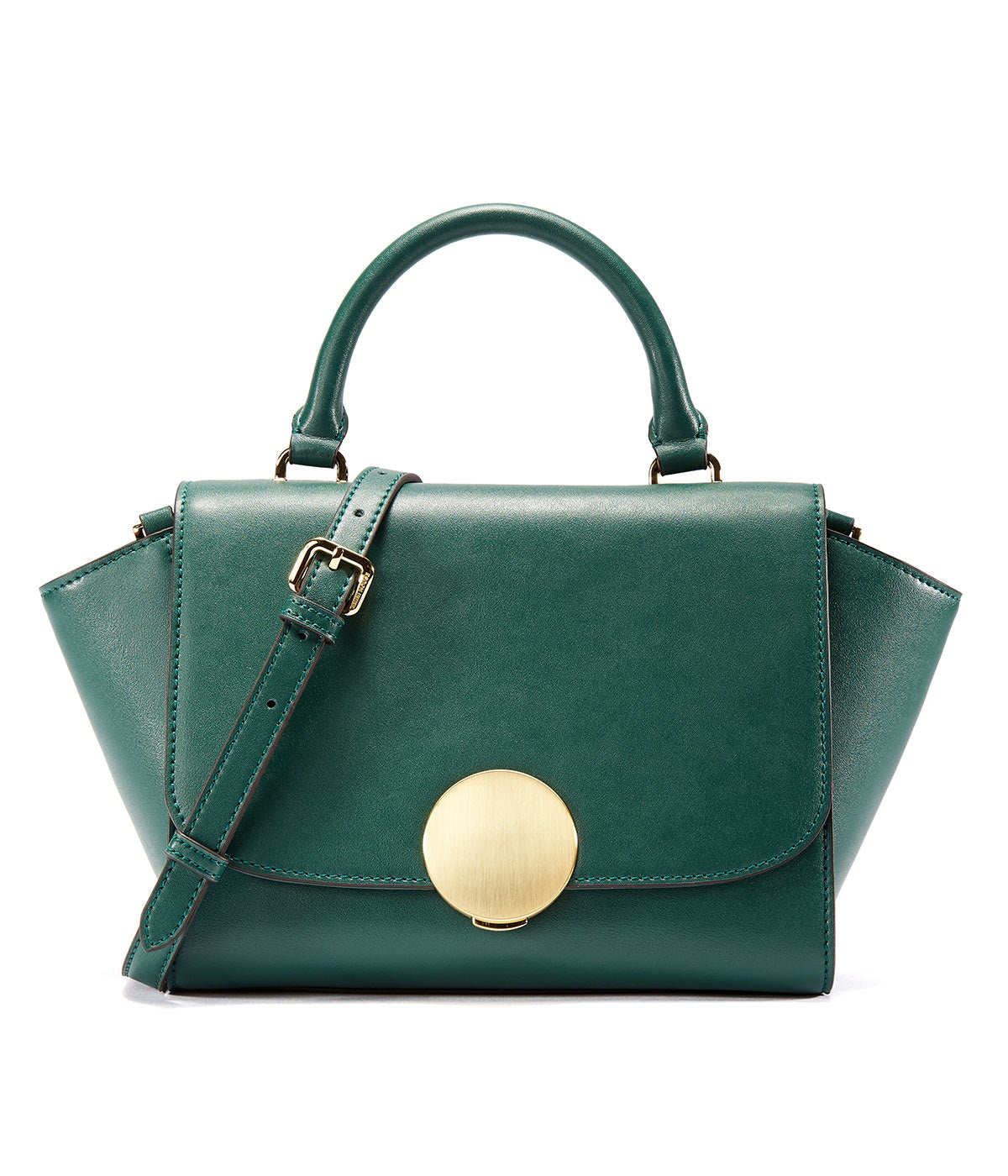 EMINI HOUSE Chic Trapeze Handle Bag with Magnetic Snap Women Handbag - EMINIHOUSE