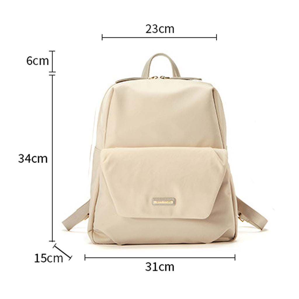 EMINI HOUSE Nylon Women School Travel Laptop Backpack Roomy