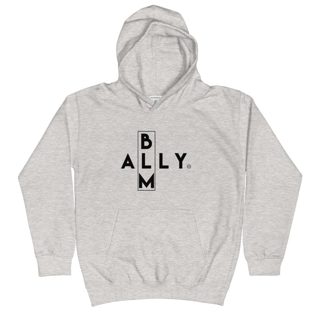 BLM ALLY Kids Hoodie Mindful T-Shirt Co.