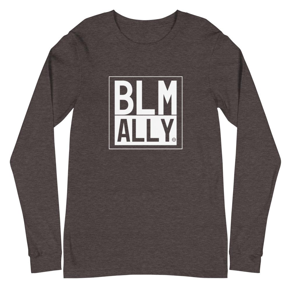 BLM ALLY Unisex Long Sleeve Tee Mindful T-Shirt Co.