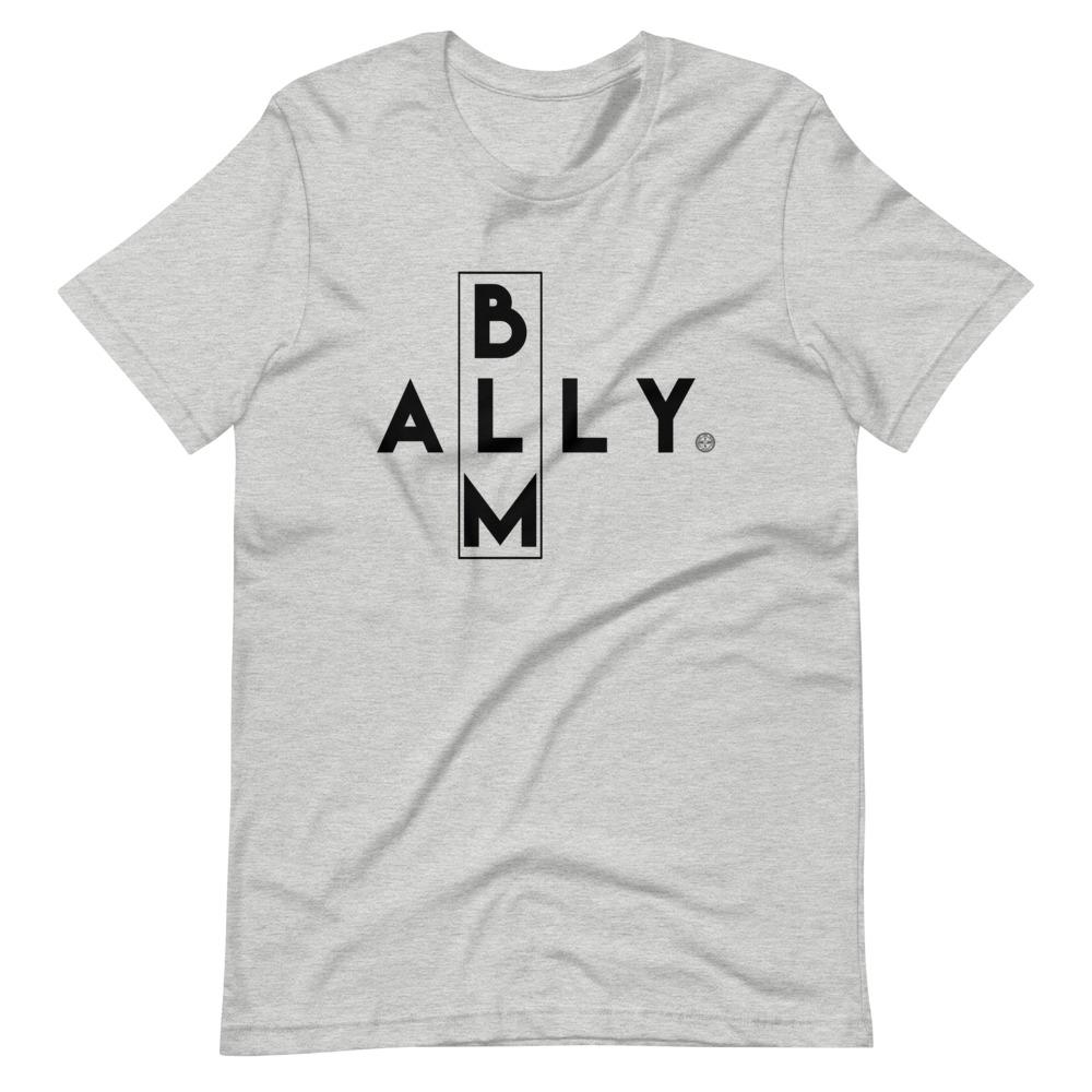 BLM ALLY Unisex T-Shirt Mindful T-Shirt Co.
