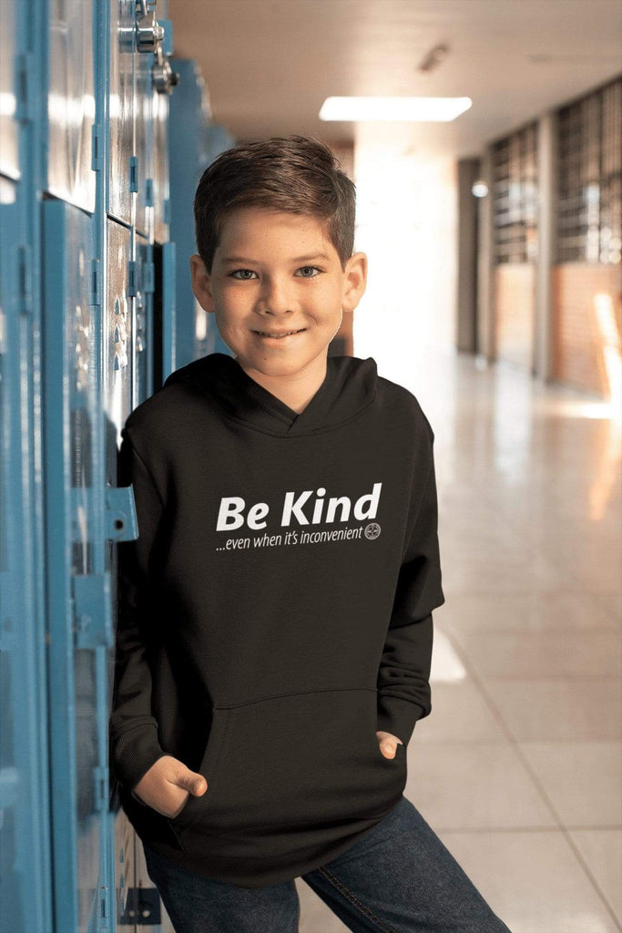 Be Kind . . . Even When It's Inconvenient Youth Hoodie Mindful T-Shirt Co.