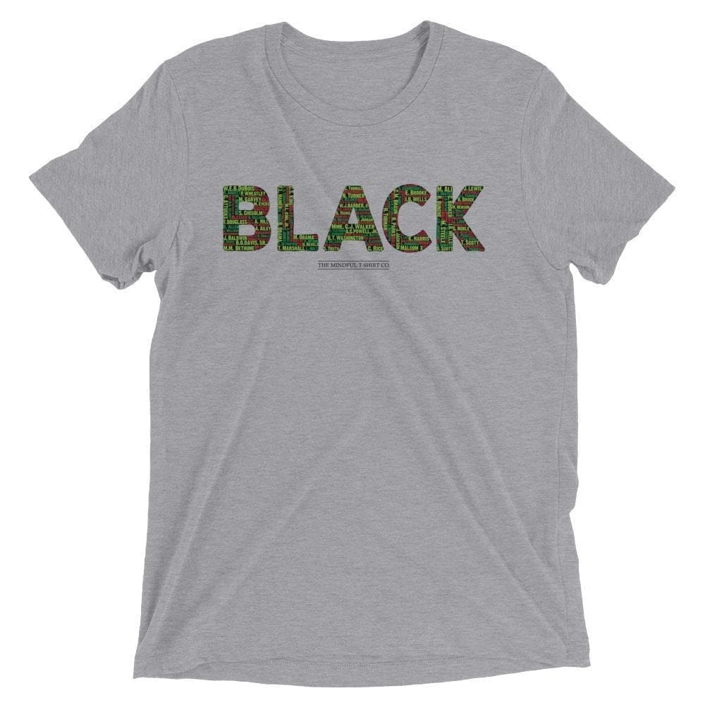 Black Leaders Luxury T-Shirt Mindful T-Shirt Co.