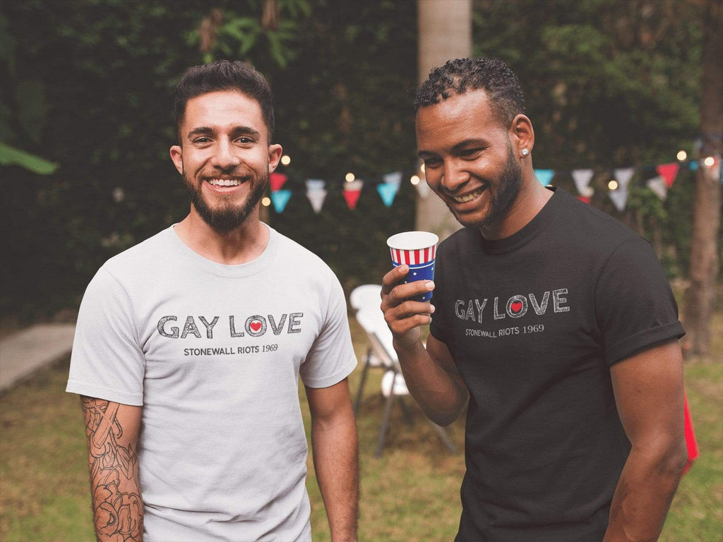 Gay Love T-Shirt Mindful T-Shirt Co.