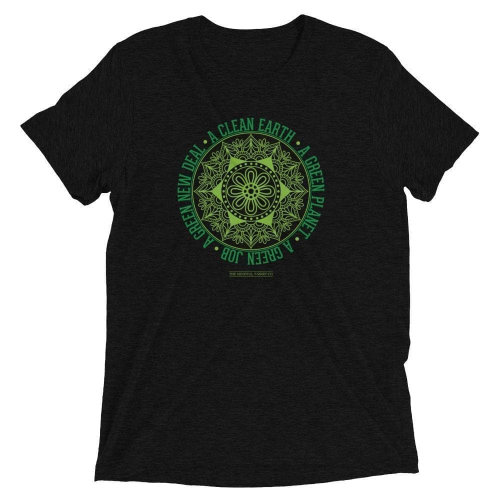 Green New Deal Luxury T-Shirt Mindful T-Shirt Co.