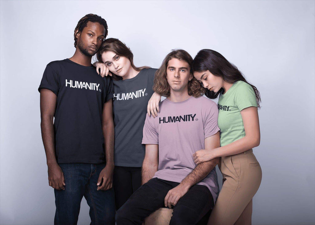 HUMANITY - English T-Shirt Mindful T-Shirt Co.