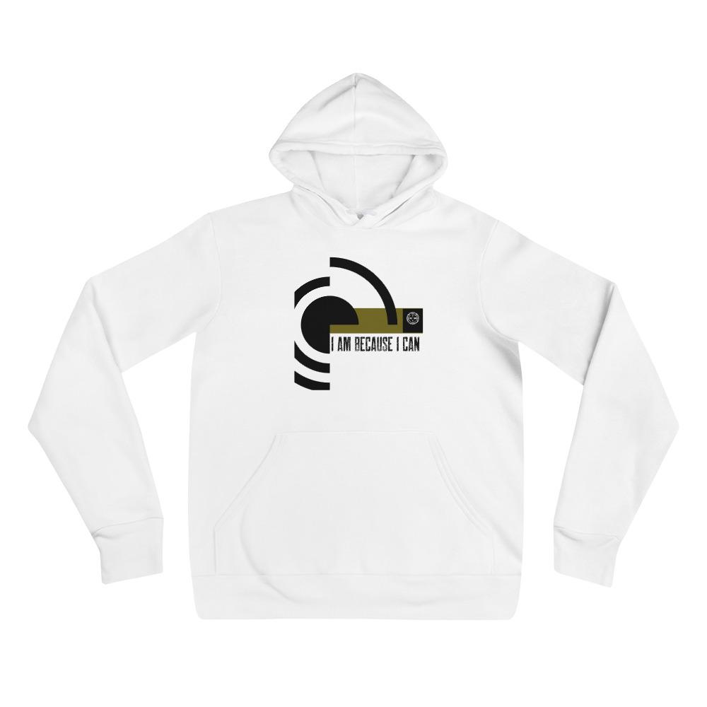 I Am Because I Can Hoodie Mindful T-Shirt Co.