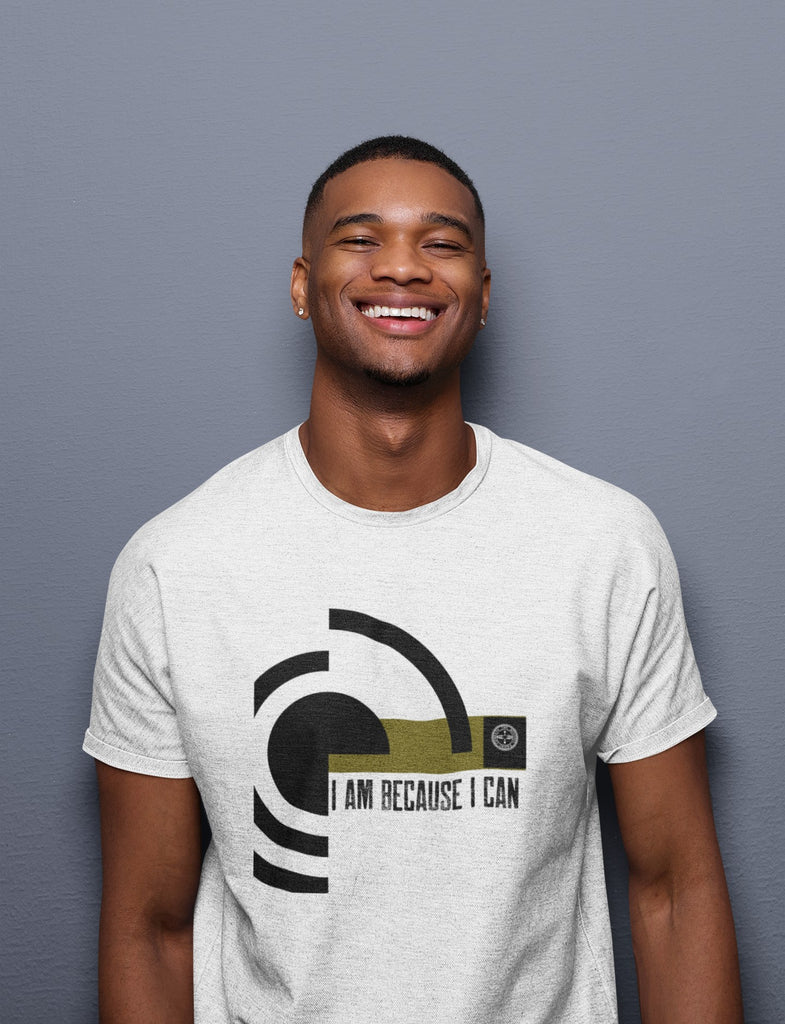 I Am Because I Can T-Shirt Mindful T-Shirt Co.