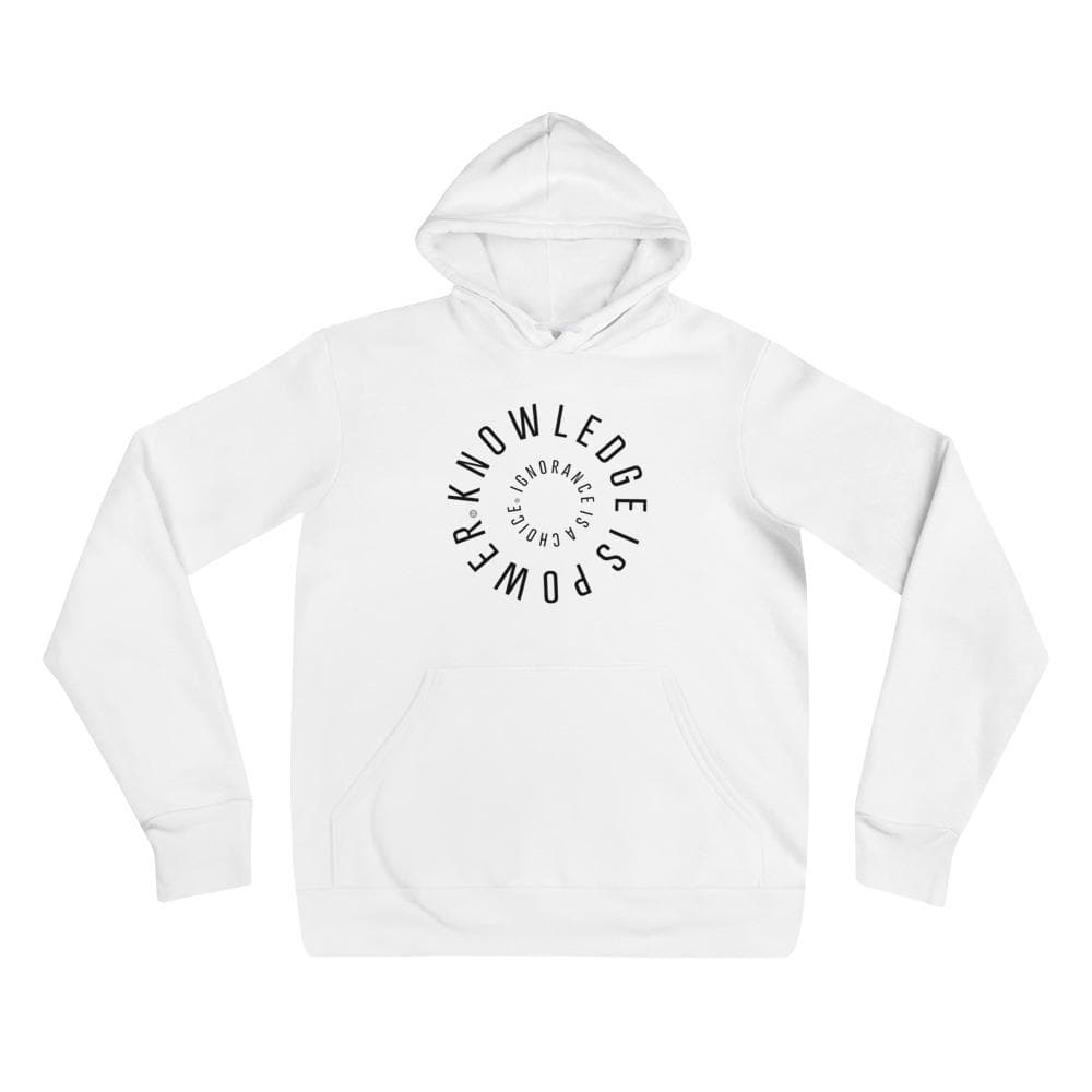 Knowledge Is Power Hoodie Mindful T-Shirt Co.