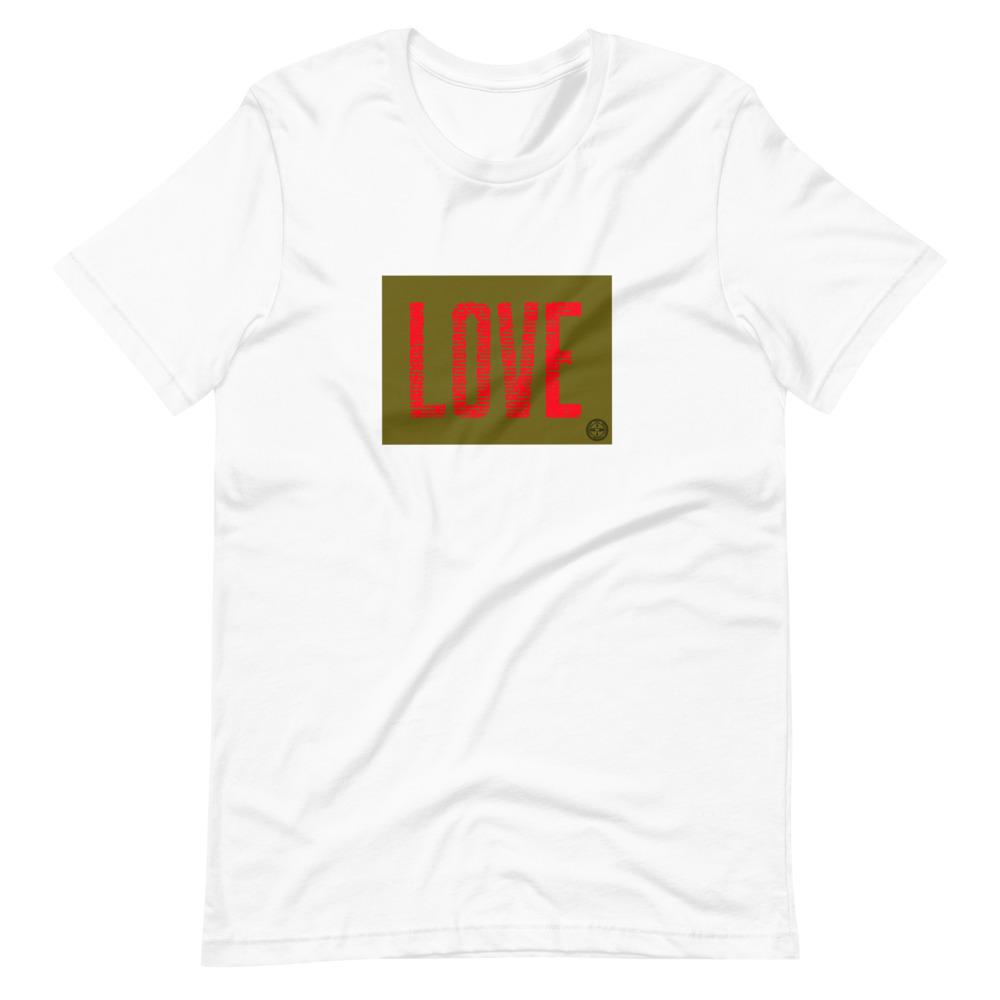 Love From The Heart T-Shirt Mindful T-Shirt Co.