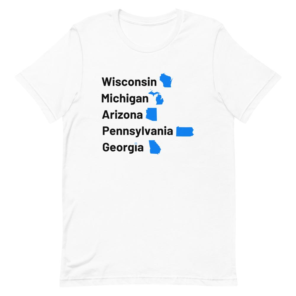 The Blue Wave Unisex T-Shirt Mindful T-Shirt Co.