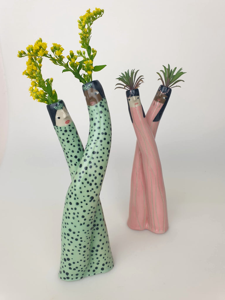 Nova & Nanette the Duo Bud Vase