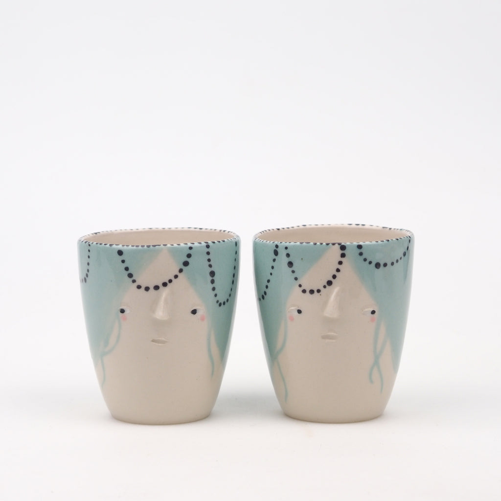 Alice & Elena the Coffee Cup Set